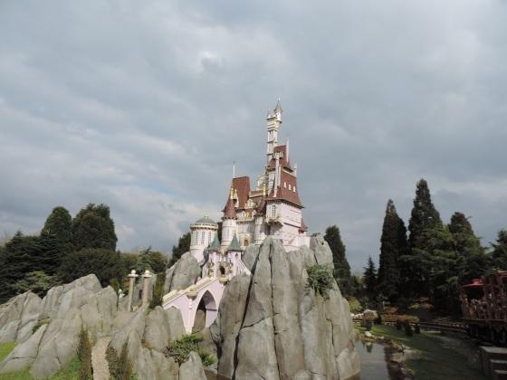 Castillo en miniatura